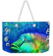 Parrotfish - Rainbow Spirit Weekender Tote Bag