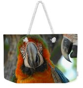 Parroting Information Weekender Tote Bag