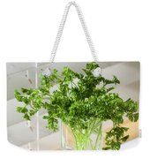 Parsley Bouquet Weekender Tote Bag