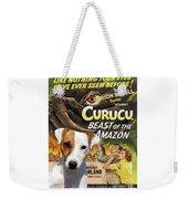 Parson Russell Terrier Art Canvas Print - Curucu  Movie Poster Weekender Tote Bag