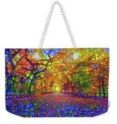 Park In Autumn Weekender Tote Bag