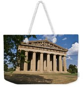 Parthenon Nashville Tennessee From The Shade Weekender Tote Bag