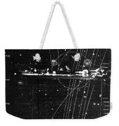 Particles Pass Through Lead Shielding Weekender Tote Bag