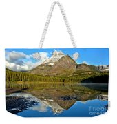 Partly Cloudy Fishercap Reflections Weekender Tote Bag