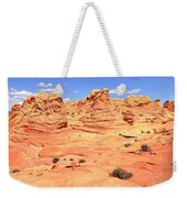 Partly Cloudy Over Coyote South Weekender Tote Bag