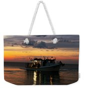 Party Boat Weekender Tote Bag