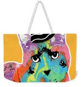 Party Cat- Art By Linda Woods Weekender Tote Bag