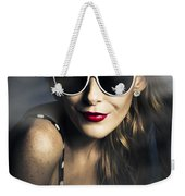 Party Fashion Pin Up Weekender Tote Bag