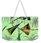 Party Hat Abstract  Weekender Tote Bag
