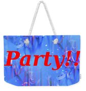 Party Weekender Tote Bag