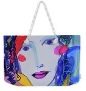 Party Time Collage Weekender Tote Bag