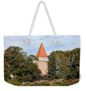 Pasamonikow Tower And Planty Park In Krakow Weekender Tote Bag