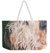 Pascal, Soft Coated Wheaten Terrier Weekender Tote Bag