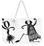 Paso Doble Weekender Tote Bag