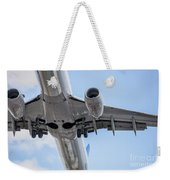 Passenger Jet Coming In For Landing 7 Weekender Tote Bag