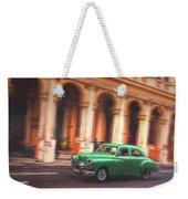 Passing By On El Prado 2 Weekender Tote Bag