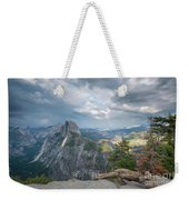 Passing Clouds Over Half Dome Weekender Tote Bag