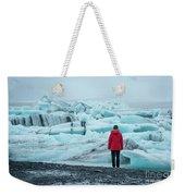 Passing Icebergs  Weekender Tote Bag