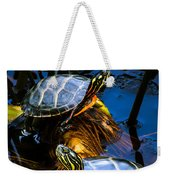Passing The Day With A Friend Weekender Tote Bag