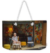 Passing The Time Of Day Weekender Tote Bag