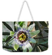 Passion Flower Close-up Weekender Tote Bag