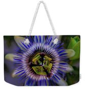 Passion Flower Weekender Tote Bag