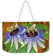 Passion Flower Power Weekender Tote Bag