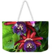 Passion Flower Ver. 16 Weekender Tote Bag