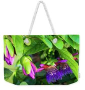 Passion Flower Ver. 18 Weekender Tote Bag