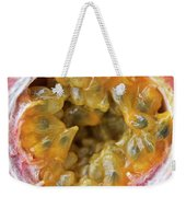 Passion Fruit In A Cut Weekender Tote Bag