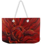 Passion II Weekender Tote Bag by Nadine Rippelmeyer
