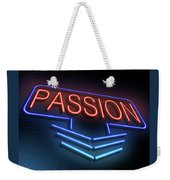 Passion Neon Concept. Weekender Tote Bag