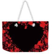 Passionate Love Heart Weekender Tote Bag