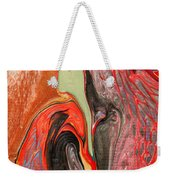 Passionate Waves Abstract Painting Weekender Tote Bag