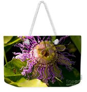 Passionflower Weekender Tote Bag