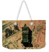 Past Letters In Post Weekender Tote Bag