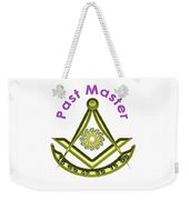 Past Master In White Weekender Tote Bag