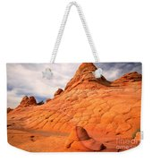 Pastel Checkerboad Landscape Weekender Tote Bag