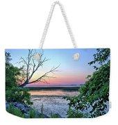 Pastel Clear Lake 3 Weekender Tote Bag