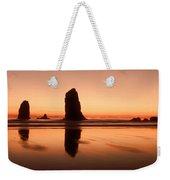 Pastel Evening On The Oregon Coast Weekender Tote Bag