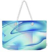 Pastel Flow Weekender Tote Bag