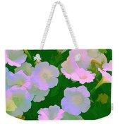 Pastel Flowers Weekender Tote Bag