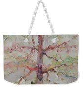 Pastel Forest Weekender Tote Bag by Nadine Rippelmeyer