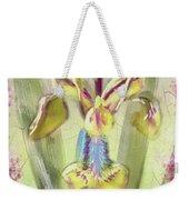Pastel Iris Weekender Tote Bag