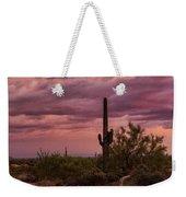 Pastel Sonoran Skies At Sunset  Weekender Tote Bag