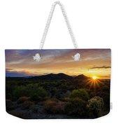 Pastel Sonoran Skies  Weekender Tote Bag