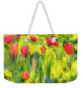Pastel Summer Flowers  Weekender Tote Bag
