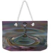Pastel Water Sculpture 11 Weekender Tote Bag