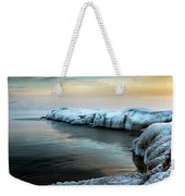 Pastels And Ice Weekender Tote Bag