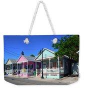 Pastels Of Key West Weekender Tote Bag